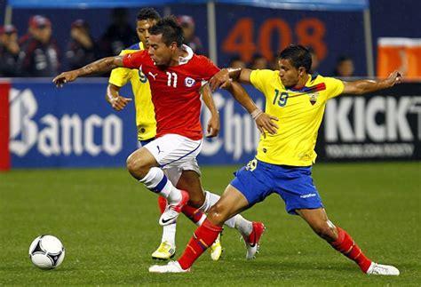 LA PREVIA: Ecuador vs. Chile chocan en Quito por ...