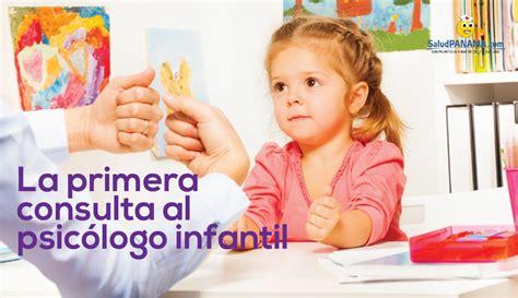 La primera consulta al psicólogo infantil