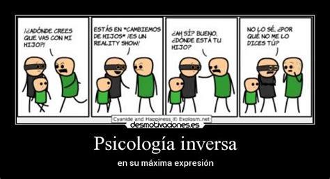 La psicologia inversa