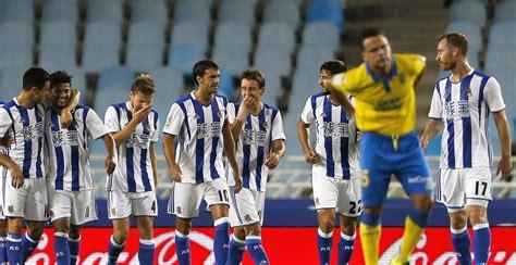 La Real Sociedad golea a la UD Las Palmas con un gran ...
