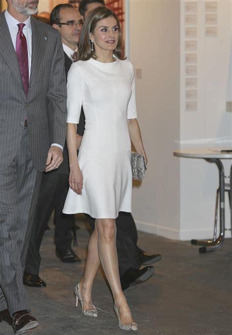 La reina Letizia y Juliana Awada, duelo de estilo, en ...