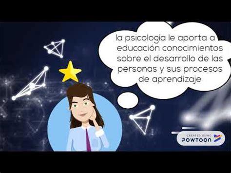LA RELACIÓN ENTRE EDUCACION Y PSICOLOGÍA   YouTube