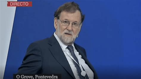 La respuesta de M. Rajoy junto a F. González sobre ...