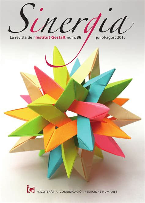 La revista de l`Institut Gestalt núm. 36 juliol