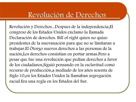 La Revolucion de la Independencia de los Estados Unidos