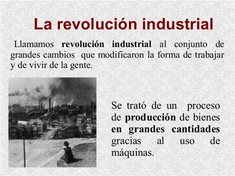La revolución industrial para niños
