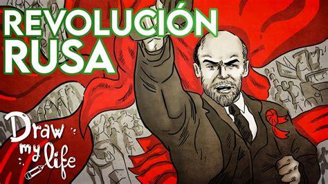 La REVOLUCIÓN RUSA de 1917  Resumen  | Draw My Life   YouTube