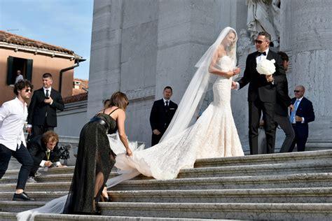 La romántica boda veneciana de Álvaro Morata y Alice ...