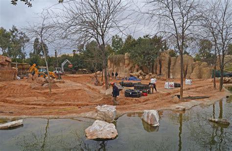 La Sabana de Bioparc Valencia, en obras   BIOPARC Valencia