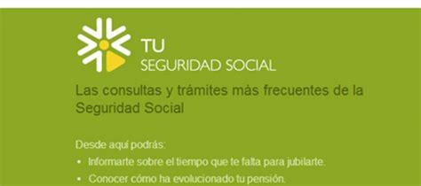 LA SEGURIDAD SOCIAL OFRECE NUEVOS SERVICIOS A LOS ...