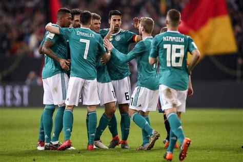 La selección alemana realiza sus preparativos para Rusia ...