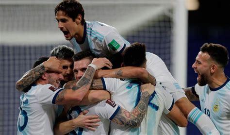 La Selección Argentina cierra hoy el 2020 con el último ...