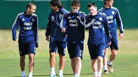 La Selección Argentina empezó con los entrenamientos para ...
