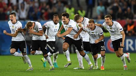 La selección de fútbol de Alemania dio su lista para la ...