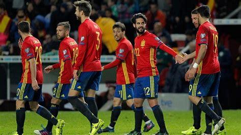 La Selección Española, camino de Rusia 2018: España se ...