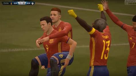 La Selección Española de FIFA 18 Clubes Pro se juega la ...