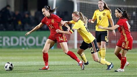 La selección española de fútbol femenino juega hoy en ...