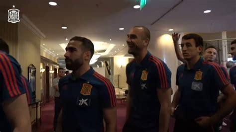 La selección española de fútbol se reúne hoy en Rumanía