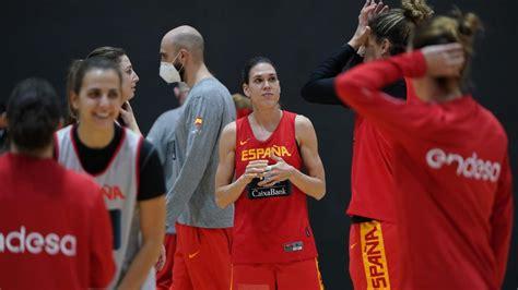 La selección española femenina de baloncesto suspende su ...