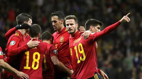 La Selección española jugará el 7 de octubre contra ...