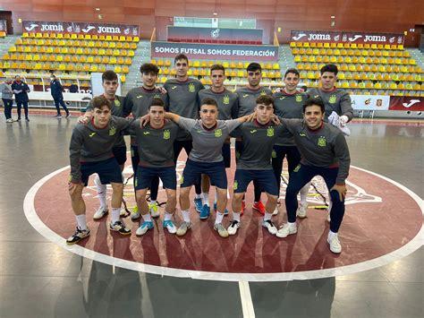 La Selección Española Sub 19 de Fútbol Sala y la Sub 18 se ...