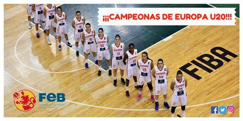 La selección española sub 20 femenina, campeona de Europa ...