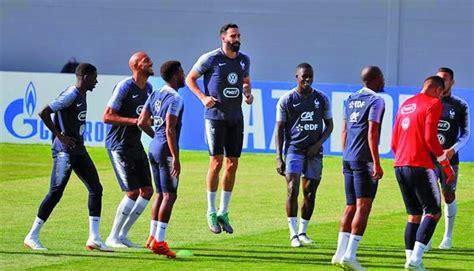 La selección francesa empieza a preparar la final sin sus ...