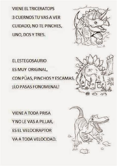 LA SEÑO VICTORIA Y SUS COSAS: Canción  Somos dinosaurios