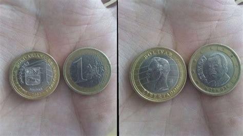 La similitud entre el bolívar venezolano, que equivale a 0 ...