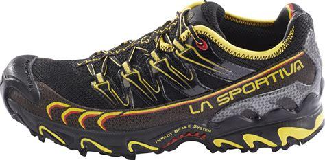 La Sportiva Ultra Raptor Running Shoes Herre black/yellow ...