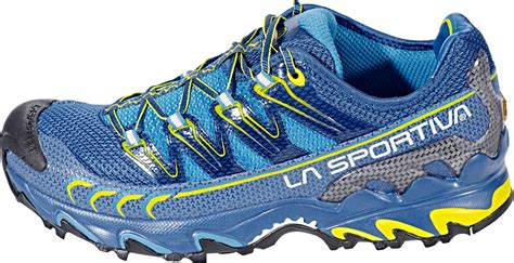 La Sportiva Ultra Raptor Running Shoes Herren blue/sulphur ...