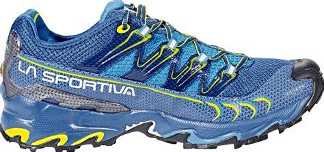 La Sportiva Ultra Raptor Running Shoes Men blue/sulphur at ...