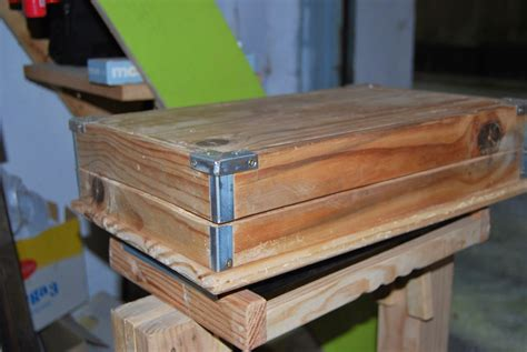 La taberna de la cuadrilla: Caja con madera machiembrada ...