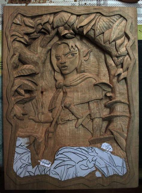 la tecnica del tallado en madera   Tallado en madera ...