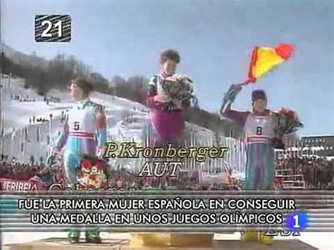 La tele de tu vida: La medalla de Blanca Fernández Ochoa ...