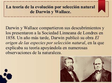 La teoria de la evolucion por seleccion natural de Darwin ...
