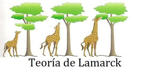 La Teoría de Lamarck y la evolución de las especies