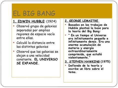 La Teoria Del Big Bang