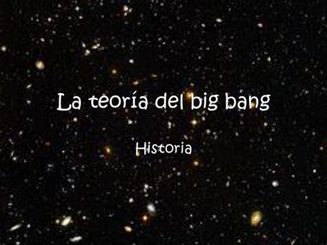 La teoría del big bang pdf