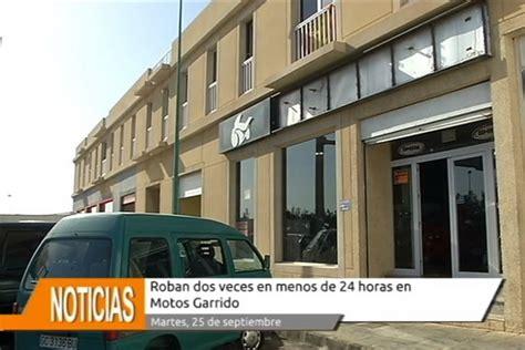 La tienda de Motos Garrido en Arrecife sufrió dos robos en ...