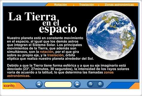 La Tierra en el espacio  | Movimientos de la tierra ...