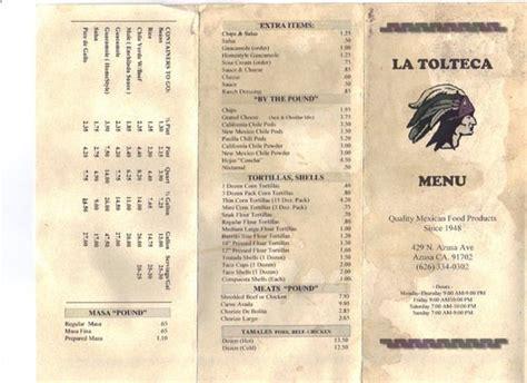 La Tolteca   Mexican   Azusa, CA   Reviews   Photos   Menu ...