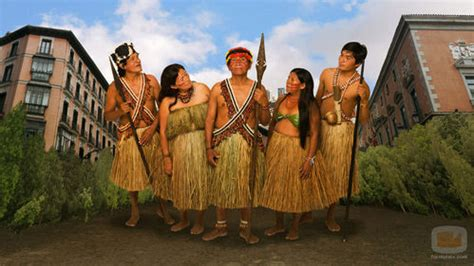 La tribu Shiwiar visita España en la segunda temporada de ...