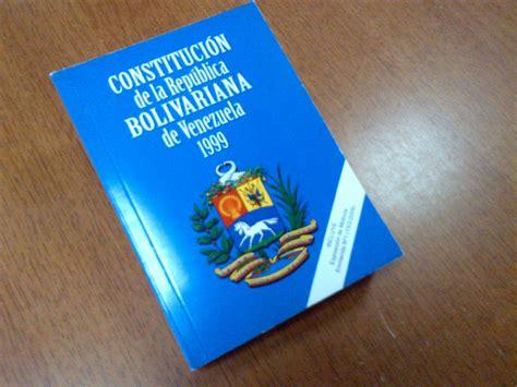 La Tropa Socialista: La Constitución de Venezuela de 1999 PDF