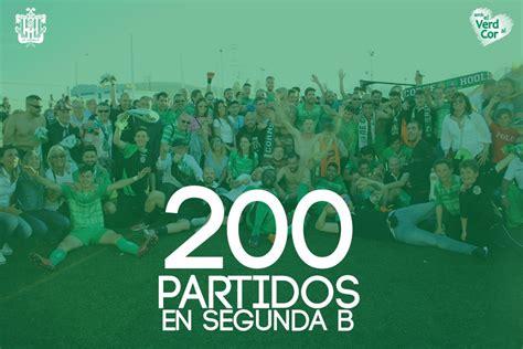 LA UE CORNELLÀ CUMPLE 200 PARTIDOS EN SEGUNDA DIVISIÓN B ...