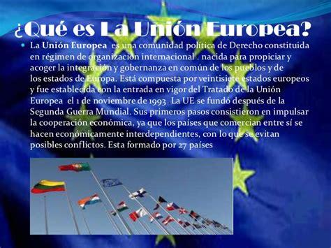La unión europea noelia hernández & alba castilla.