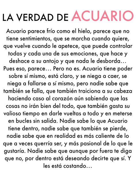 LA VERDAD DE ACUARIO | Zodíaco acuario, Acuario, Signos ...