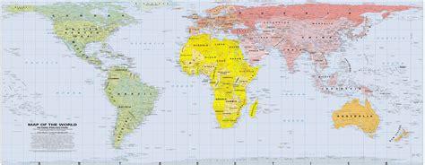 La verdad sobre el mapa de Peters | El navegante   Blog ...
