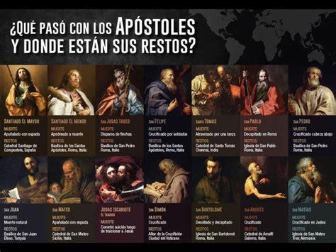 La vida de los 12 apóstoles | Apóstoles de jesús ...