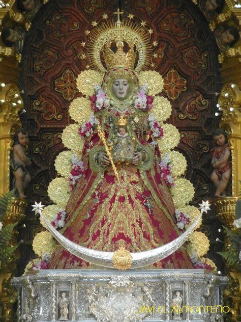 La Virgen con el traje de Navidad | Rocio.com